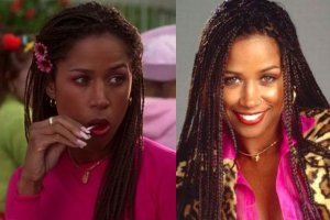 """W filmie """"Clueless"""" Stacey Dash gra�a nastolatk�, a by�a przed 30-stk�. Teraz ma 48 lat i figur� lepsz� ni� 20 lat temu!"""
