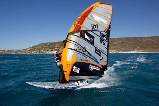 Zdjęcie numer 1 w galerii - Maciej Rutkowski 4. w windsurfingowych MŚ w Slalomie