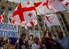 Gruzini demonstrowali przeciwko rosyjskiej okupacji. 3 tys. ludzi wyszło na ulice Tbilisi