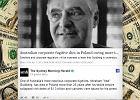 Zmarł Abraham Goldberg, największy dłużnik Australii. Do końca życia ukrywał się w Polsce