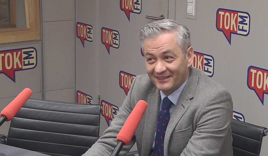 Prezydent Słupska Robert Biedroń w TOK FM