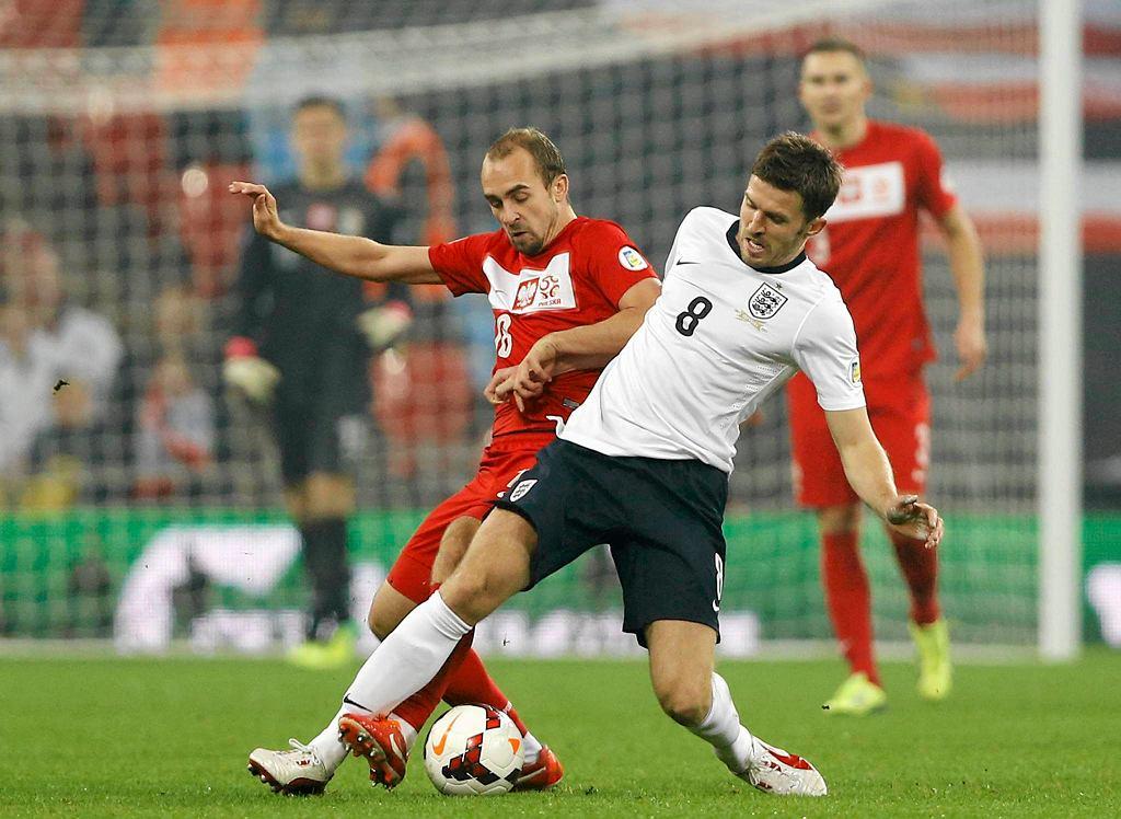 Adrian Mierzejewski w spotkaniu z Anglią