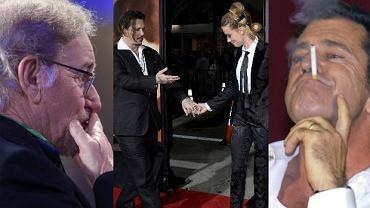 Steven Spielberg, Johnny Depp, Amber Heard, Mel Gibson