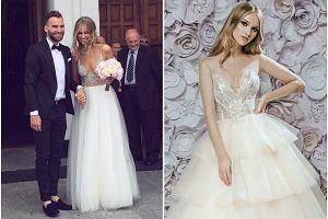 """Gwiazda """"Top Model"""" brała ślub w sukni polskiej marki, teraz ją reklamuje. Kreacje - piękne!"""