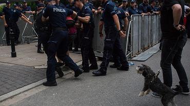 Protest obywateli przeciw ustawom o sądownictwie, Warszawa 20.07.2018
