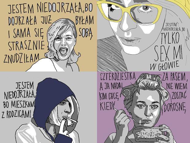 Marta Frej: Jestem niedojrzała, bo dojrzałość zeszła na psy