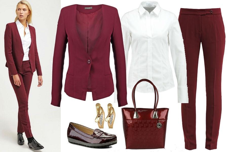 6ebeb78792 Damskie garnitury - trzy stylizacje idealne do pracy
