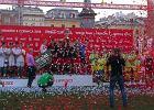 Robert Lewandowski ogl�da� nast�pc�w w Coca-Cola Cup w Krakowie