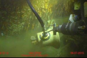 Wydobyto dzwon z najwi�kszego okr�tu Royal Navy