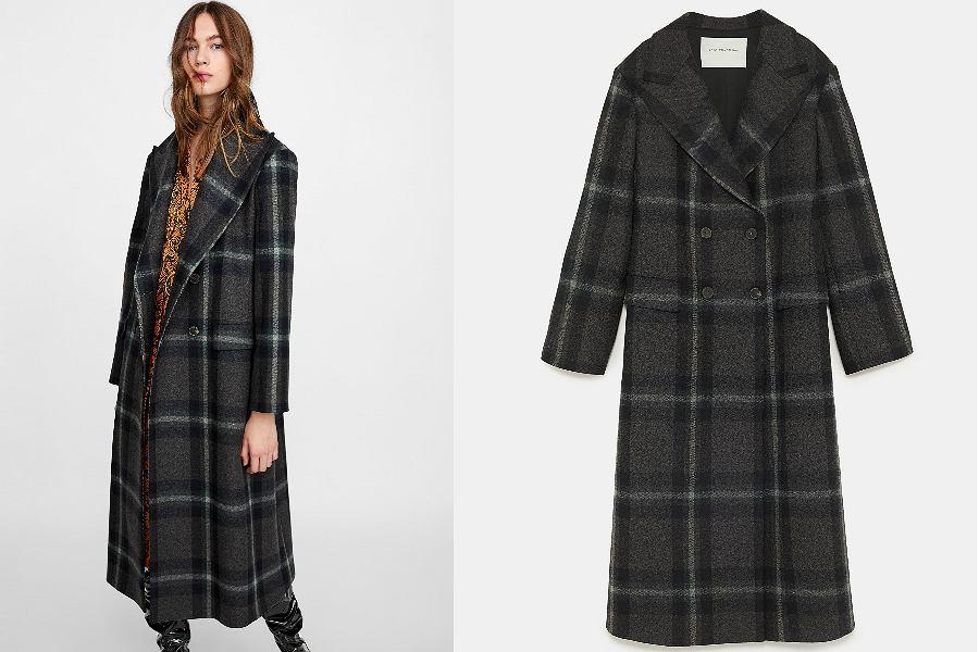 płaszcz damski Zara
