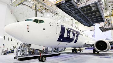 LOT-owski samolot Boeing 737 MAX 8