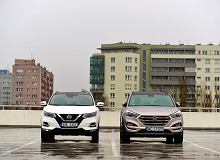 Nissan Qashqai 1.6 dCi vs. Hyundai Tucson 2.0 CRDi - pojedynek na szczycie