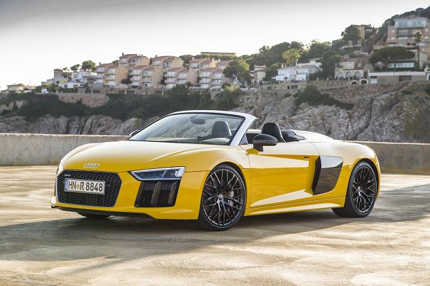 Audi R8 Spyder | Pierwsza jazda | Połączenie idealne