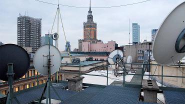 Anteny satelitarne w Warszawie