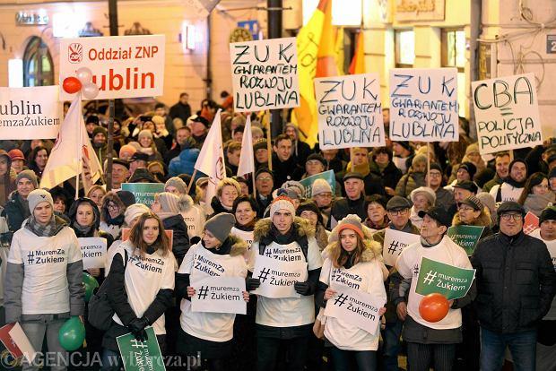 Lublin. Manifestacja