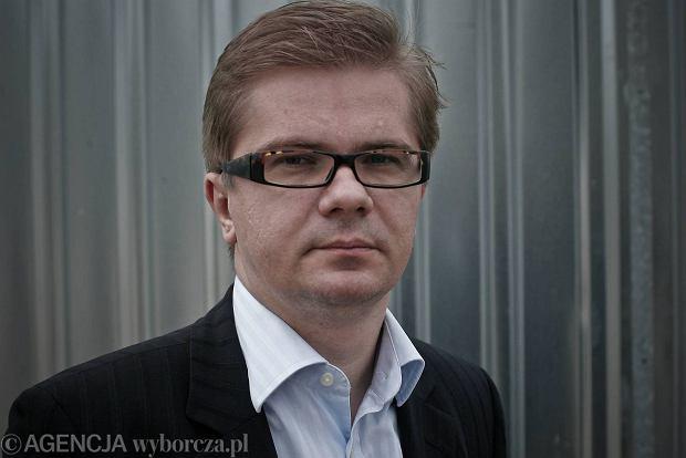 Sylwester Latkowski, redaktor naczelny tygodnika