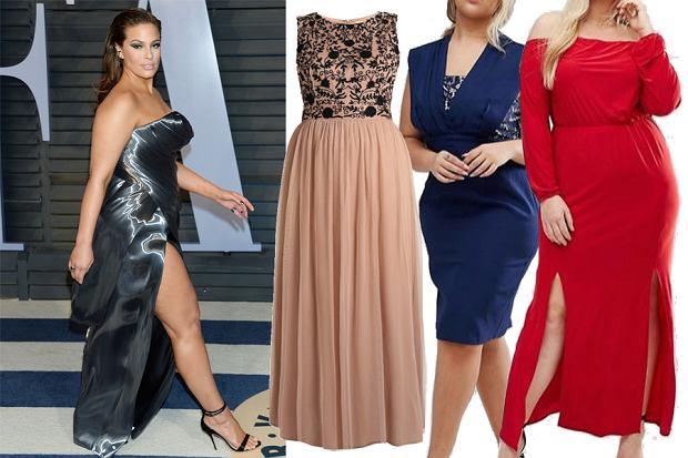 Kolaż, sukienki na przyjęcie/Materiały partnera
