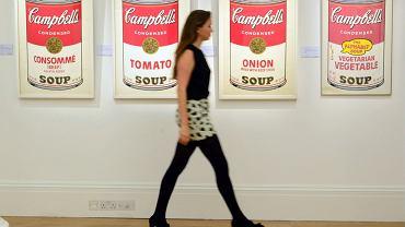 Słynne zupy Campbella autorstwa Andy'ego Warhola
