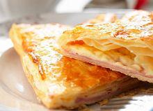 Tarta wiejska z szynką i serem - ugotuj