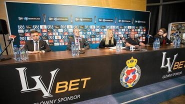 Konferencja Towarzystwa Sportowego Wisła Kraków