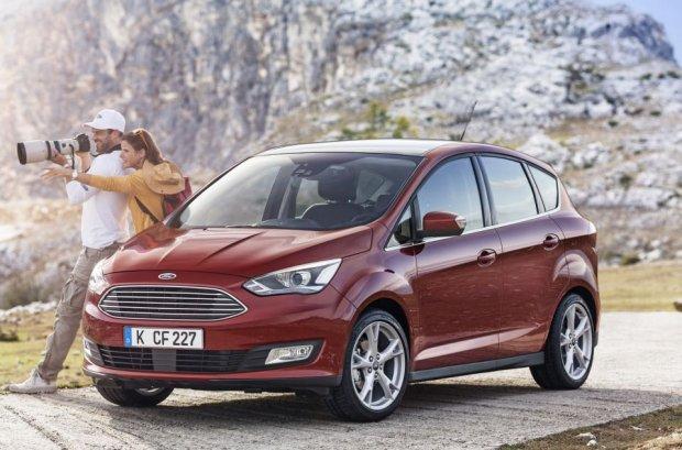 Salon Pary� 2014 | Nowa twarz Forda C-Max