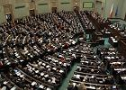 Sala plenarna sejmu podczas debaty o ustawie o reformie OFE