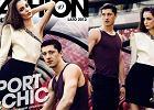 """Zuzanna Bijoch i Robert Lewandowski w Fashion Magazine - """"top"""" dw�jka na stadionie"""