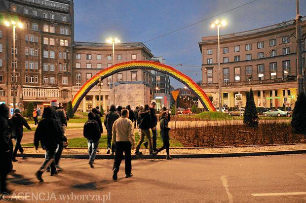 Julita W�jcik: T�cza przy ECS jako symbol solidarno�ci z homoseksualistami