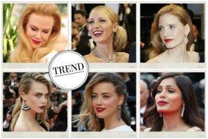 Cannes 2014: Gwiazdy kochaj� klasyk� i na czerwonym dywnie prezentuj�... czerwone usta
