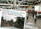 Lotnisko Chopina zalane po nawałnicy. Port ostrzega: Wyjedźcie z domu wcześniej