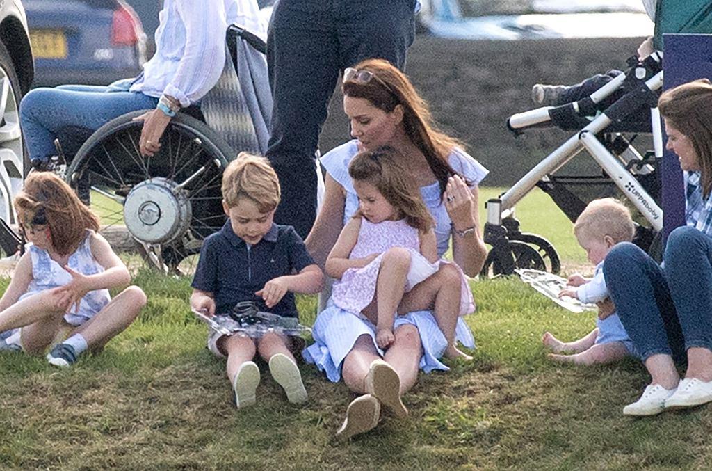 księżna Kate na Maserati Royal Charity Polo Trophy
