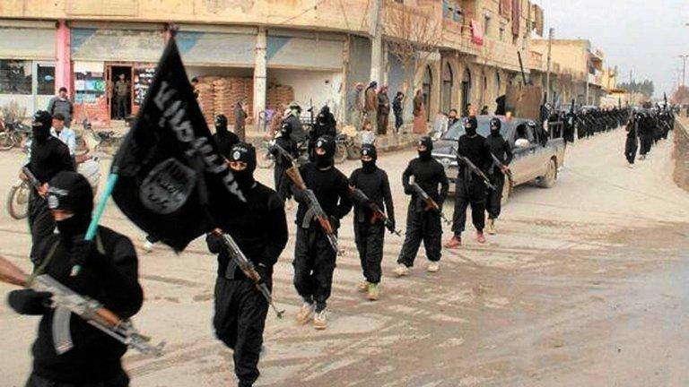 Dżihadyści IS w Syrii