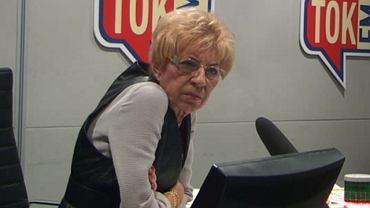 Janina Paradowska w Poranku Radia TOK FM