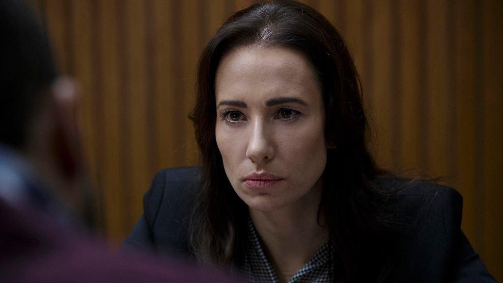 Aleksandra Popławska w serialu 'Wataha'