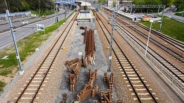 Inwestycja kolejowa przy stacji Kraków Podgórze