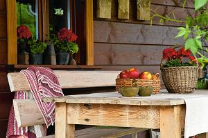 Styl rustykalny: wiejski domek