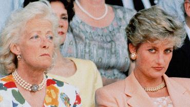 Księżna Diana z matką