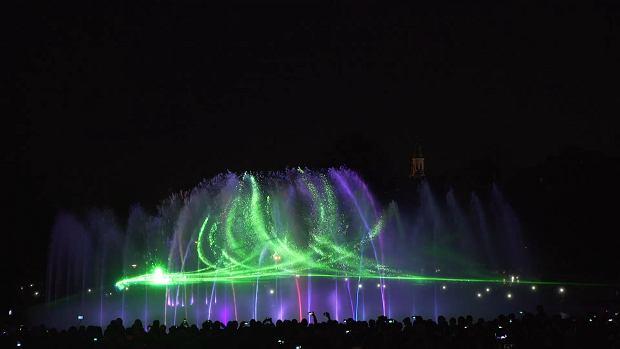 Otwarcie Multimedialnego Parku Fontann