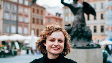 Redaktorka Legend Warszawskich Julia Odnous