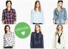 Naj�adniejsze koszule z H&M do 100 z�