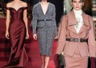 Moda z wybieg�w: stylowe lata 40.