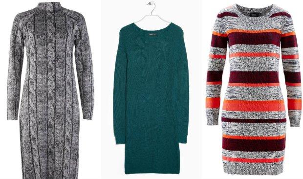 9db556c33e Swetrowe sukienki na jesień i zimę - ponad 50 propozycji