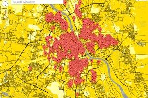 Aktywi�ci publikuj� swoj� map� dzia�ek z roszczeniami