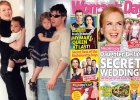 "Nicole Kidman i Tom Cruise z dzie�mi / Ok�adka ""Woman's Day"""