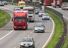 Wypadek na A4 w Krakowie