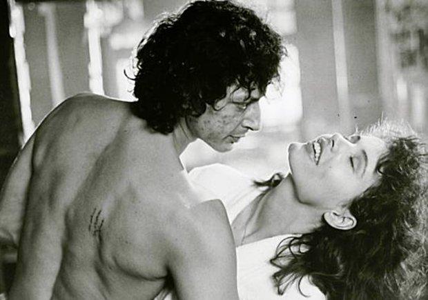 Jeff Goldblum i Geena Davis