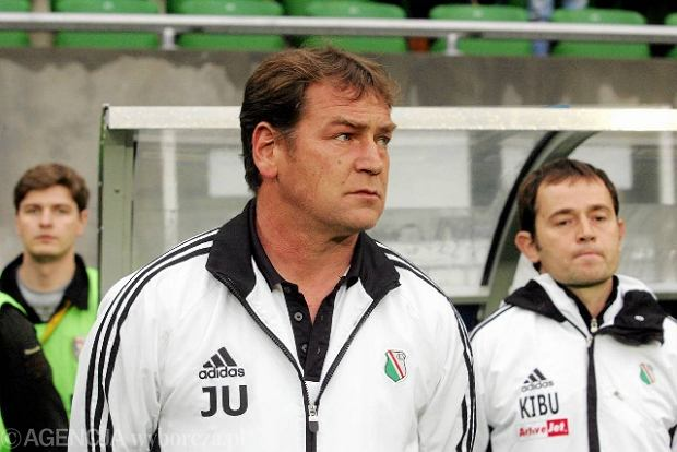 Jan Urban, trener Legii Warszawa