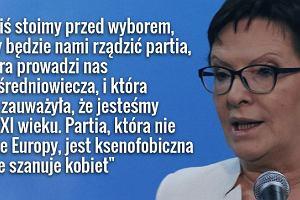 Wybory 2015. Premier Kopacz u Olejnik: Mamy prezydenta, kt�ry ma gdzie� wyroki Trybuna�u Konstytucyjnego [NAJCIEKAWSZE W�TKI]