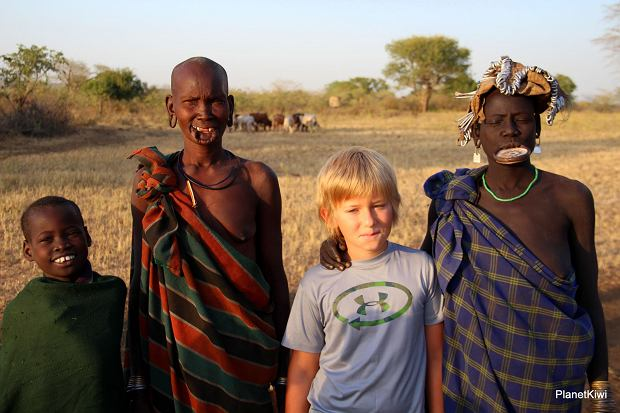 Szymon w Etiopii