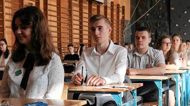 Egzamin gimnazjalny 2018 w Gimnazjum nr 23 im. Szarych Szeregów w Poznaniu